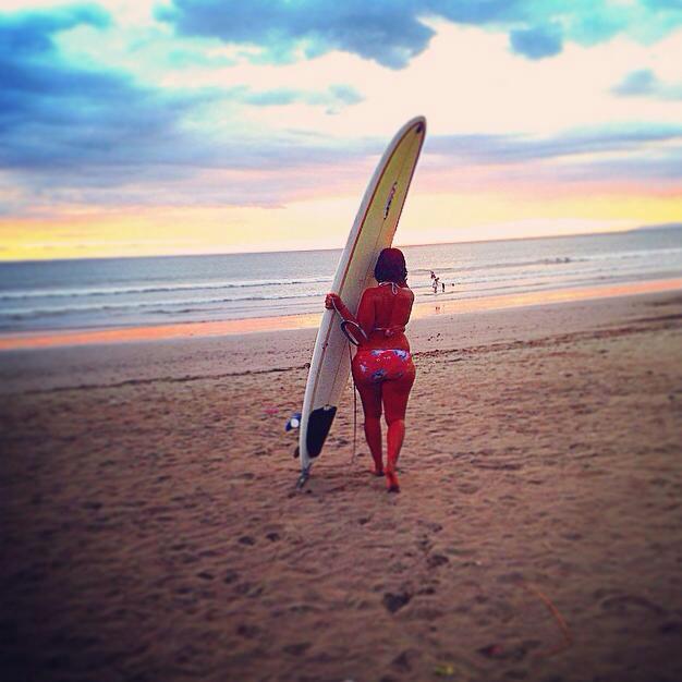 Maya surfing