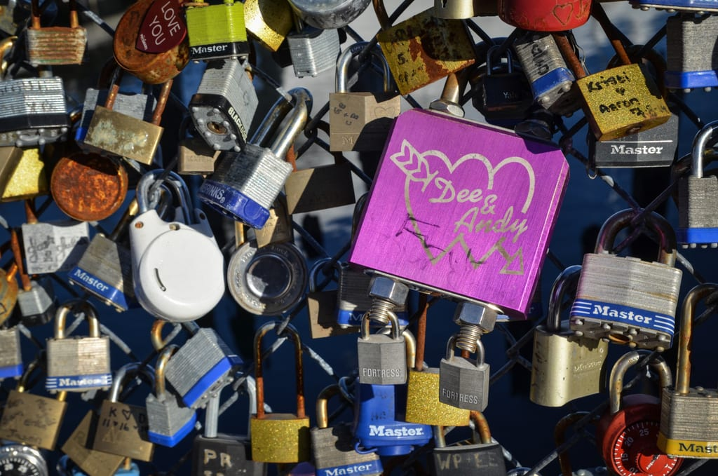 Portland Love Locks