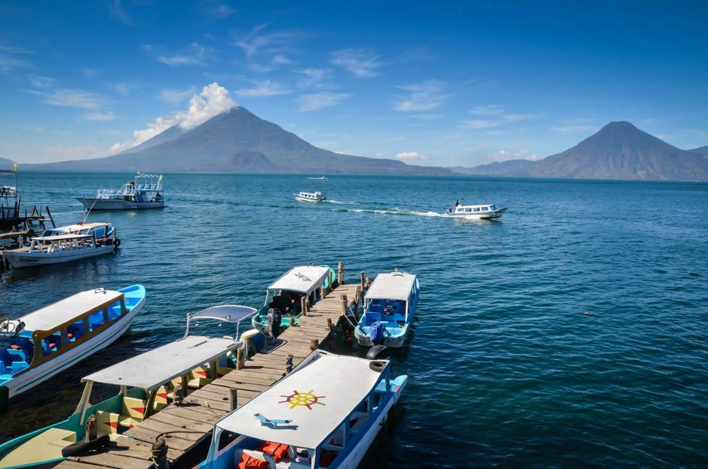 Panajachel Lake Atitlan Guatemala