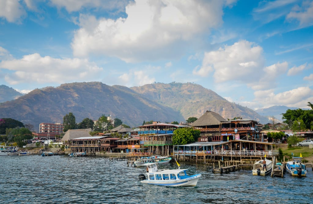 Image result for Lake Atitlán in Guatemala.