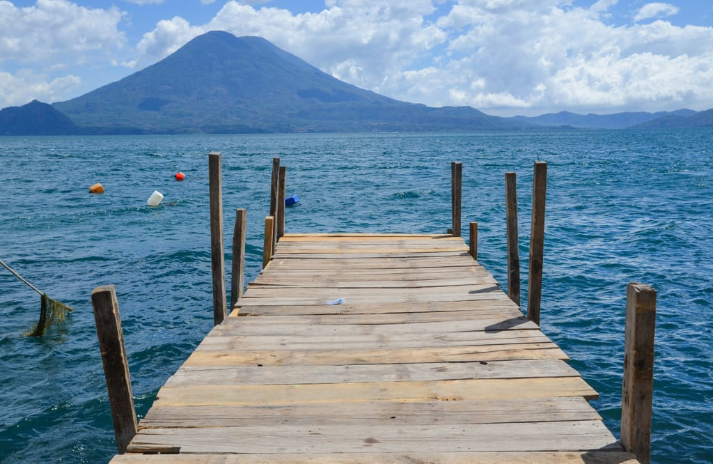 Lake Atitlan Guatemala Dock