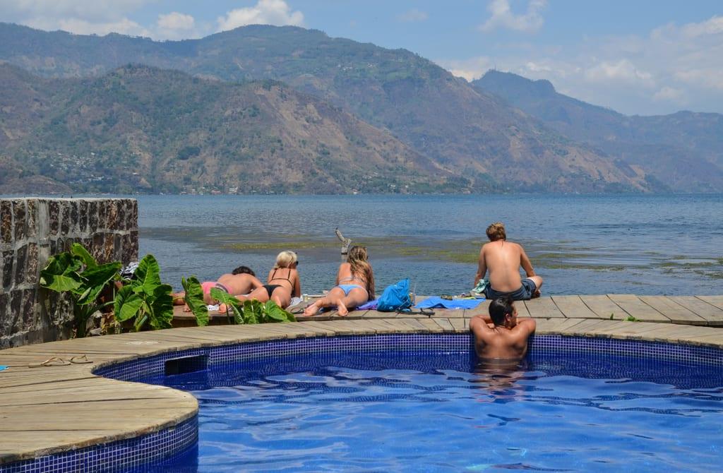 Zoola Pool San Pedro Atitlan Guatemala