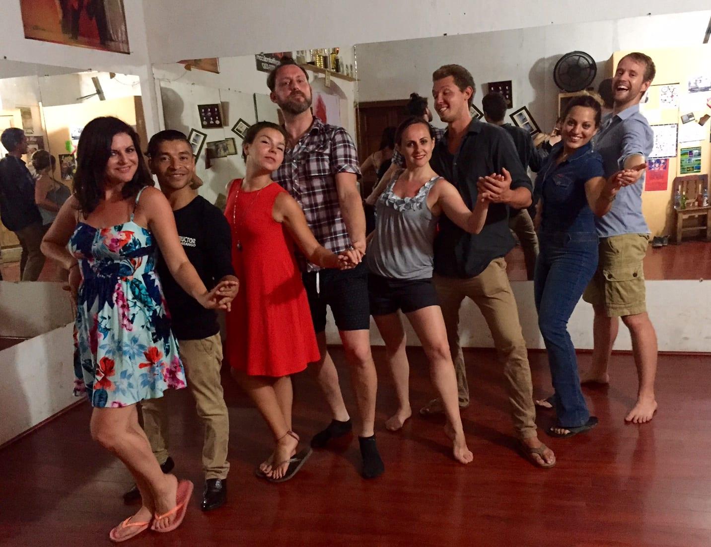 Tour Salsa Lesson