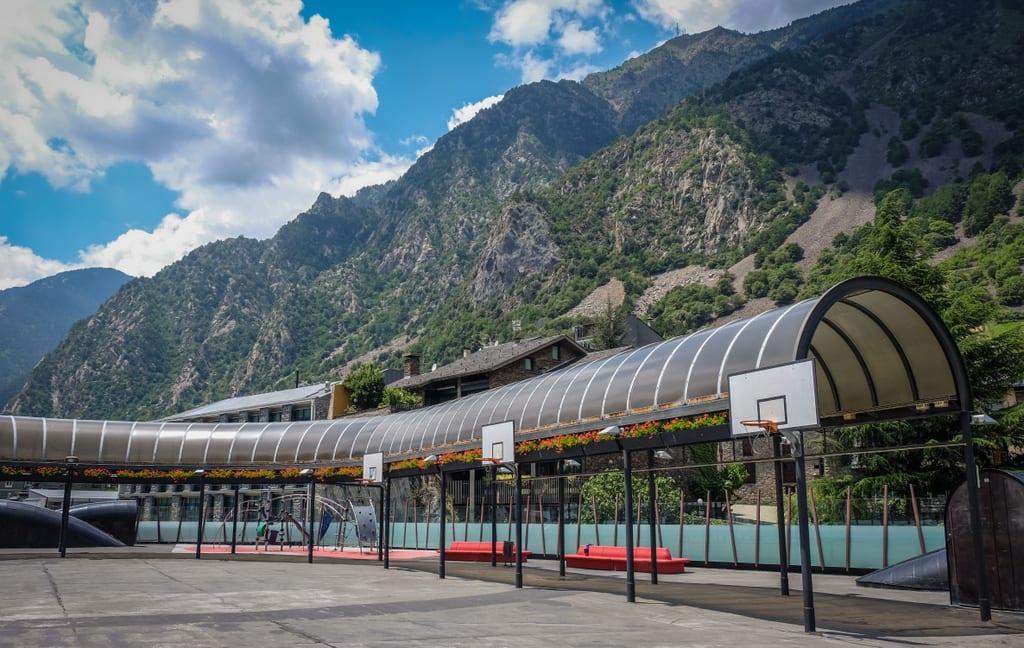 Andorra Basketball Court