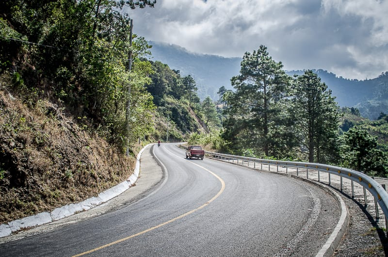 Driving through Chiapas