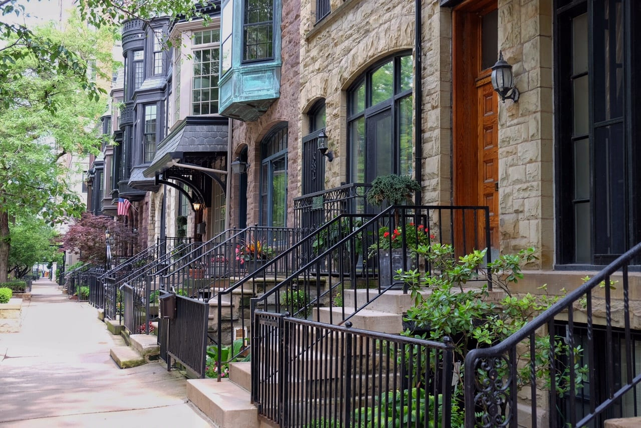 Chicago Brownstones