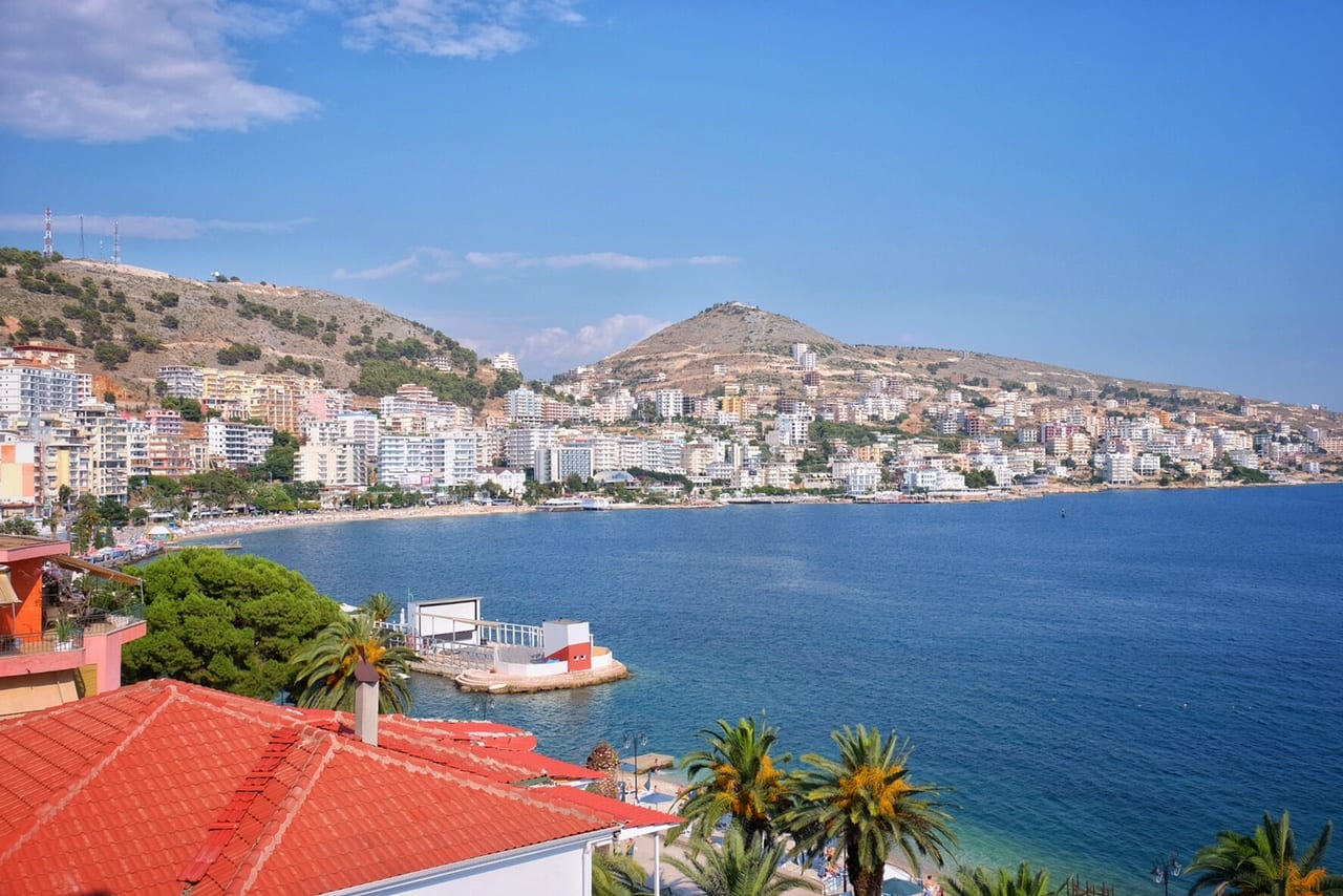 Saranda View from Airbnb