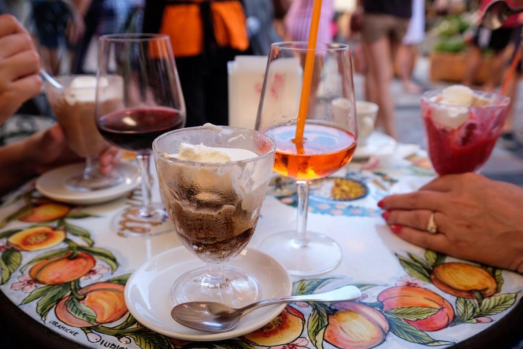 Taormina Granita and Cocktails