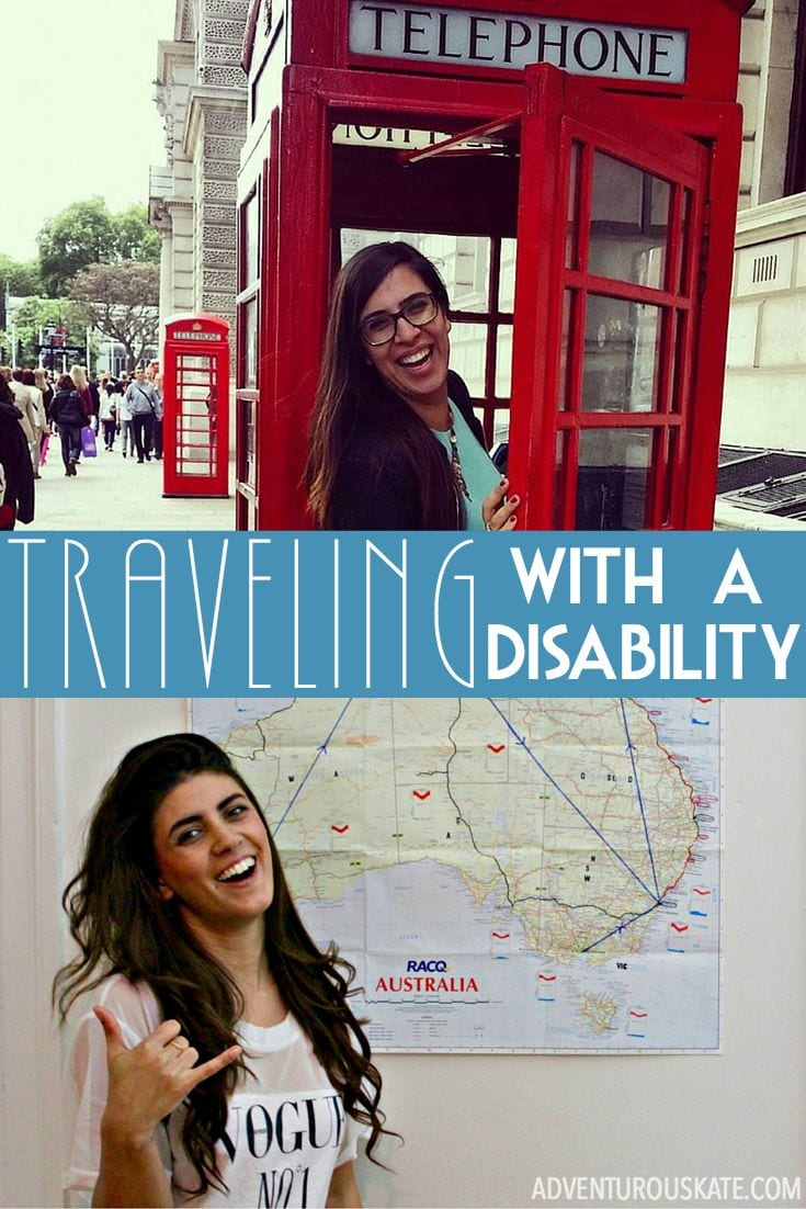 What's it like to travel with a disability?