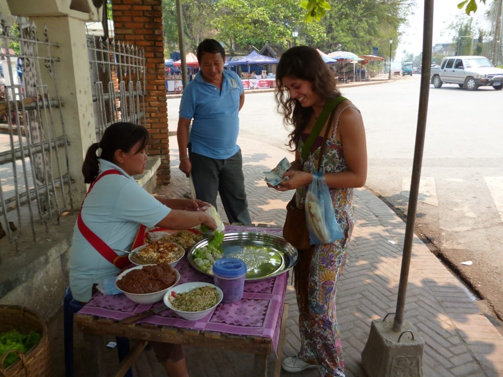 Dilara at Market