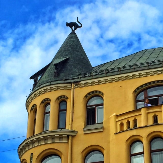 Cat Building, Riga