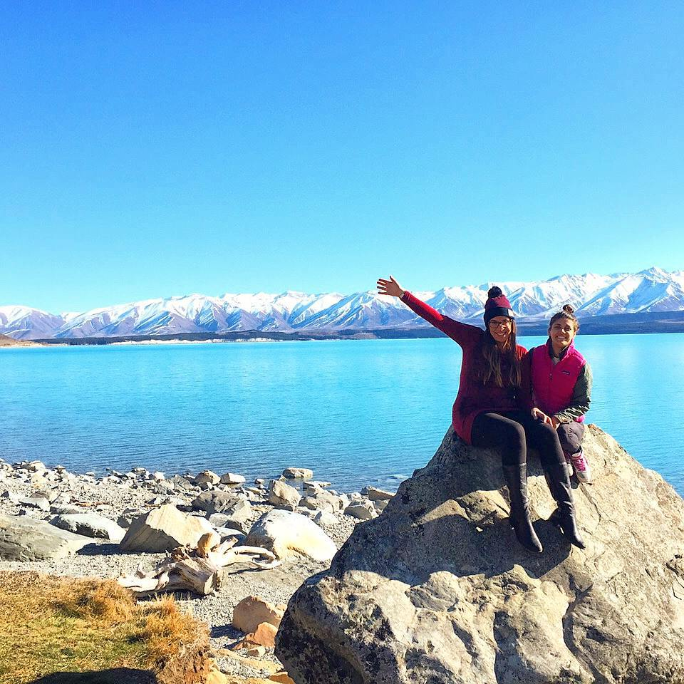 justine and dilara in nz