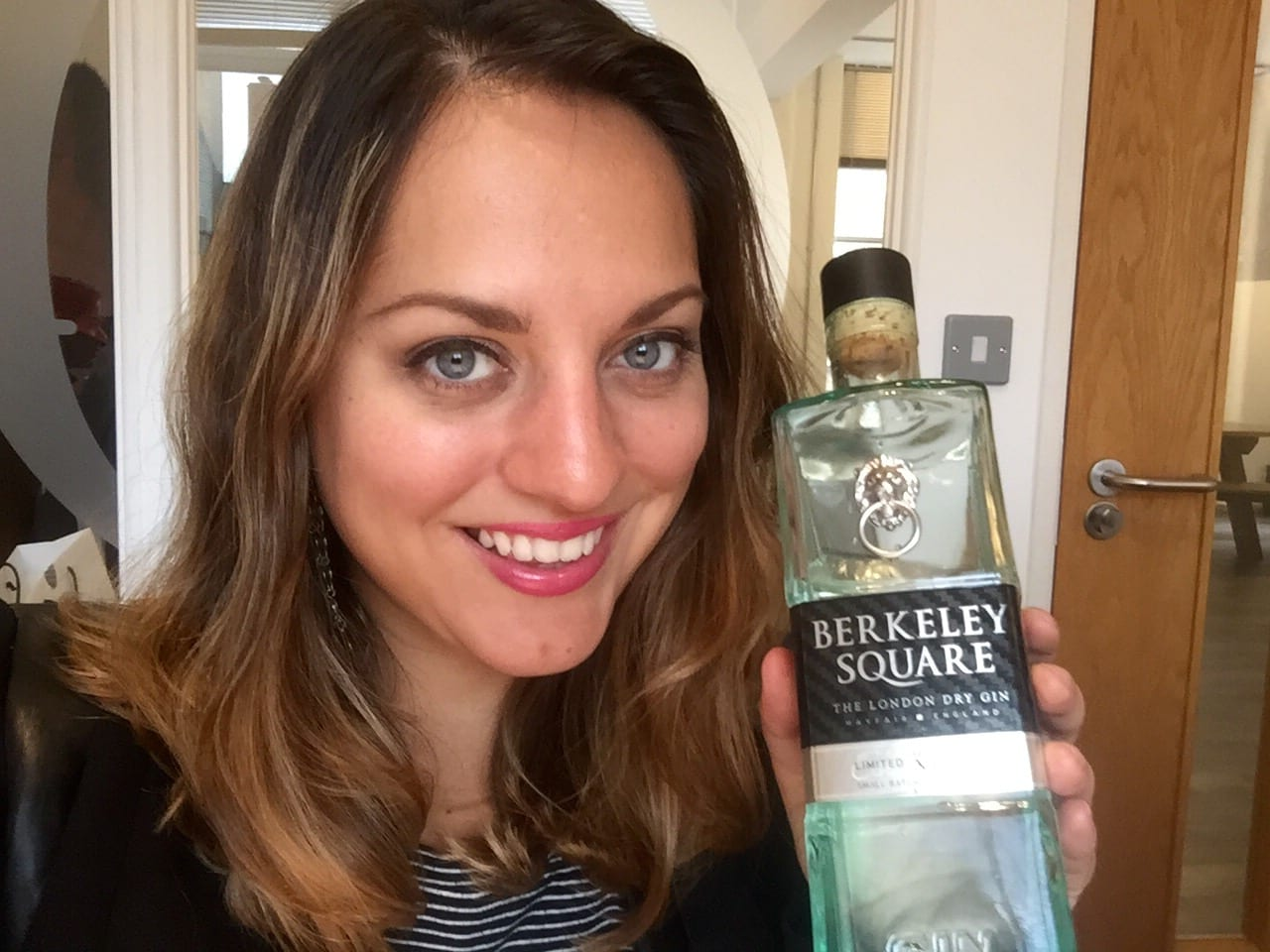 Kate and Berkeley Square Gin