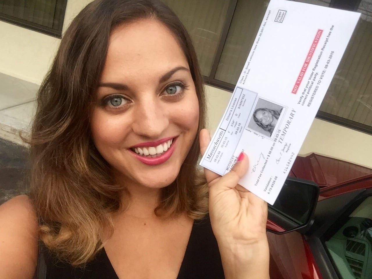 Kate's New License