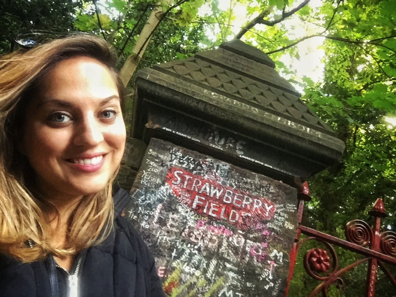 Kate at Strawberry Fields
