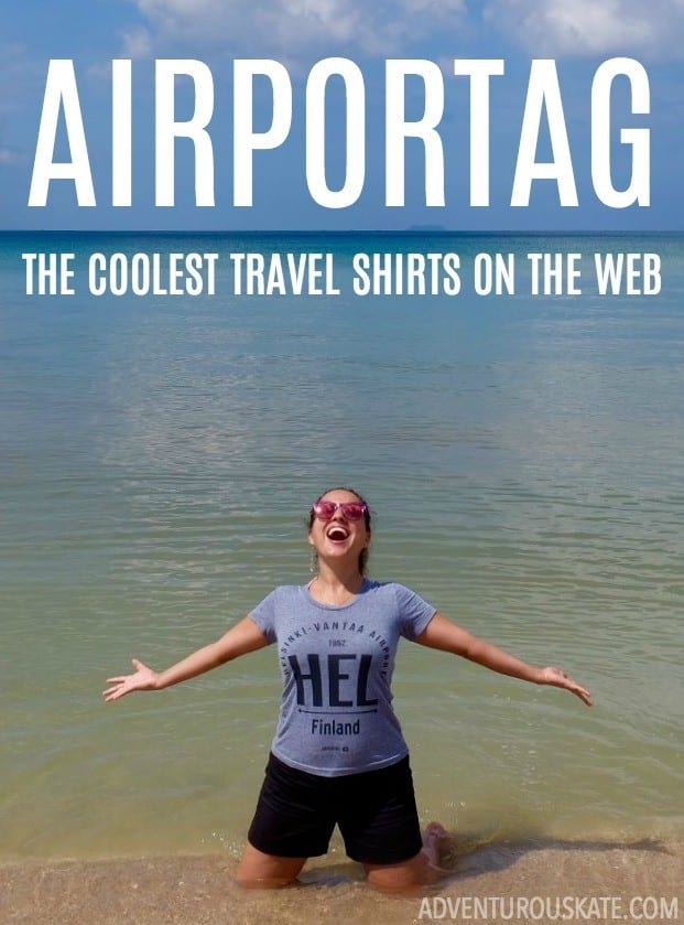 Airportag: The Coolest Travel Shirts on the Web