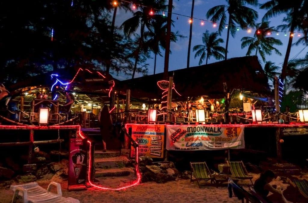 Bar on Koh Lanta
