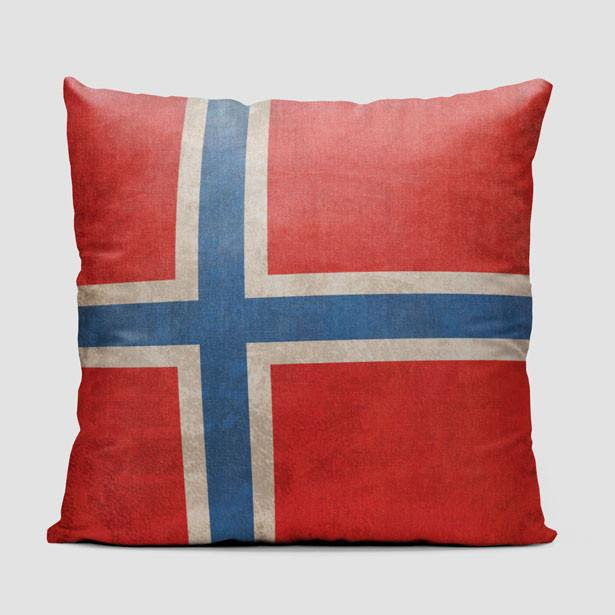 Airportag Norway Flag Pillow