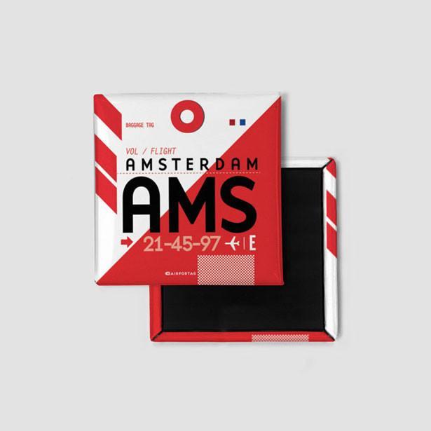 Airportag Amsterdam Magnet