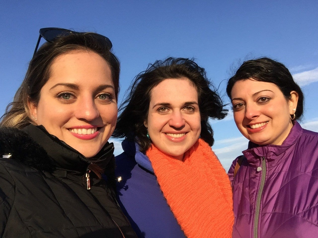 Kate, Lisa and Alexa in Rockport