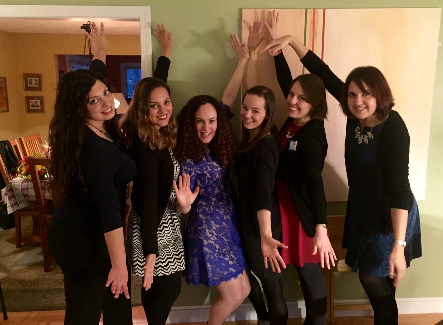 Alexa, Kat,e Janelle, Amelia, Beth, Lisa Wedding Shower