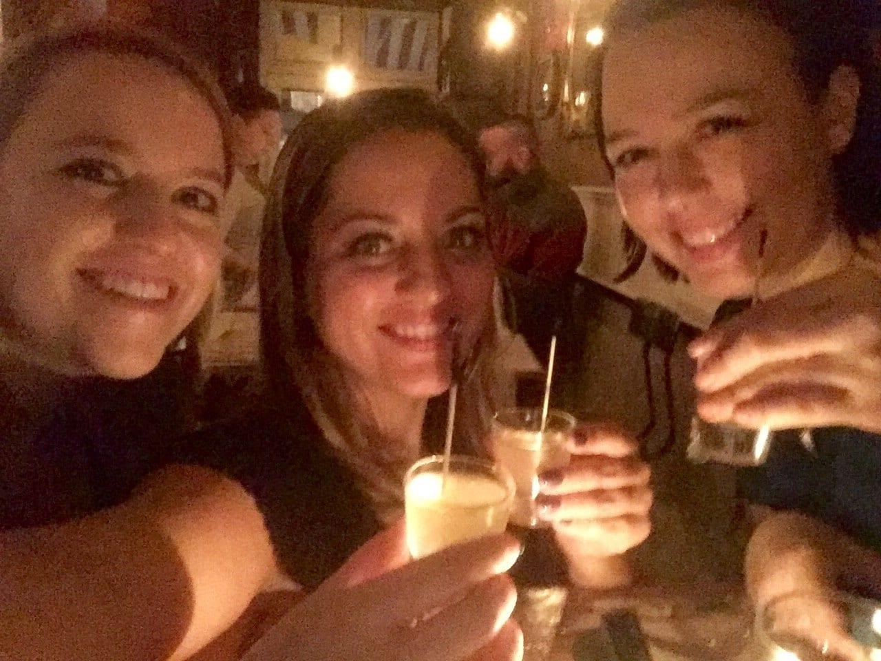 Kim, Kate and Caroline in NYC