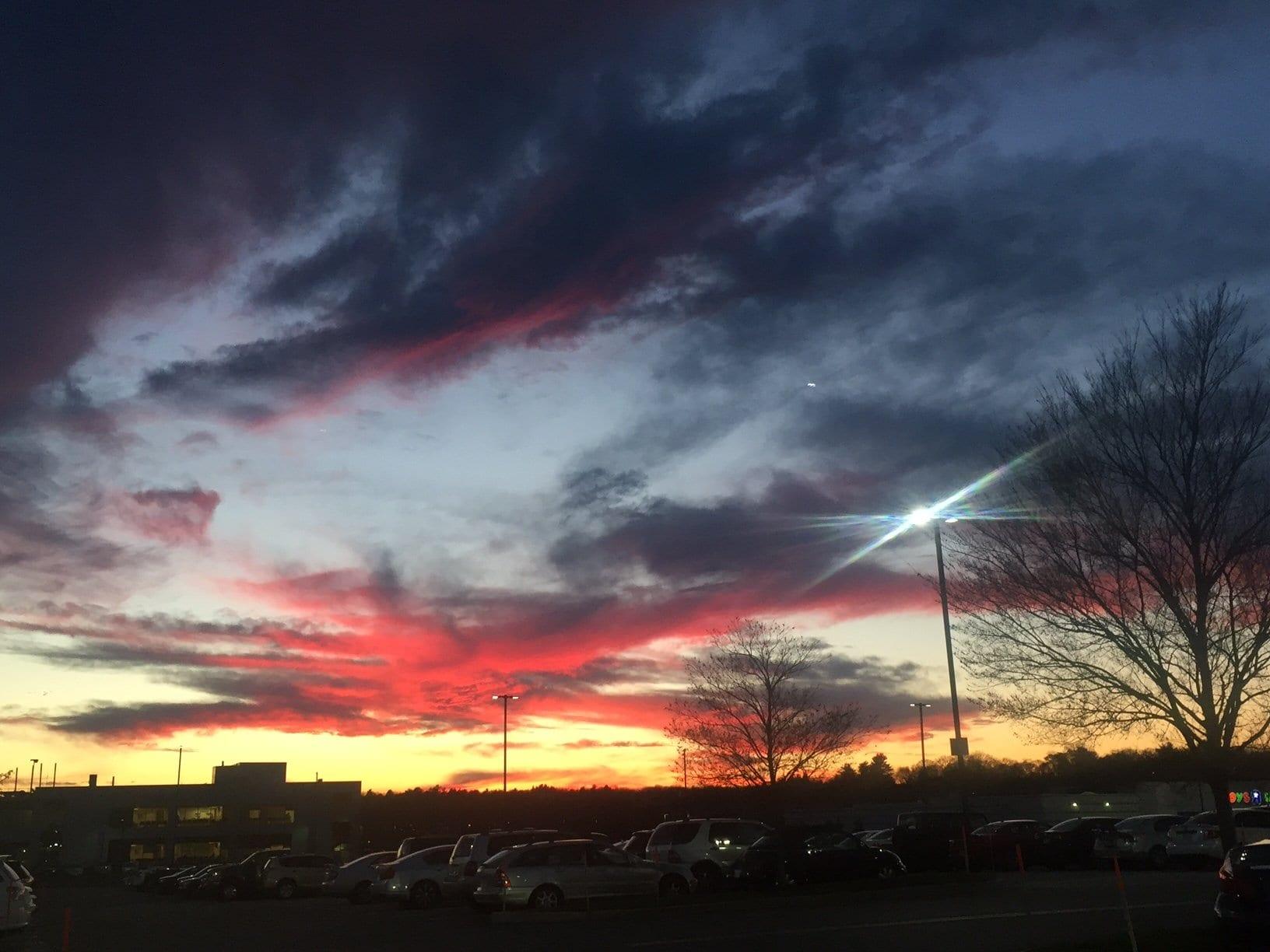 Sunset at Northshore Mall