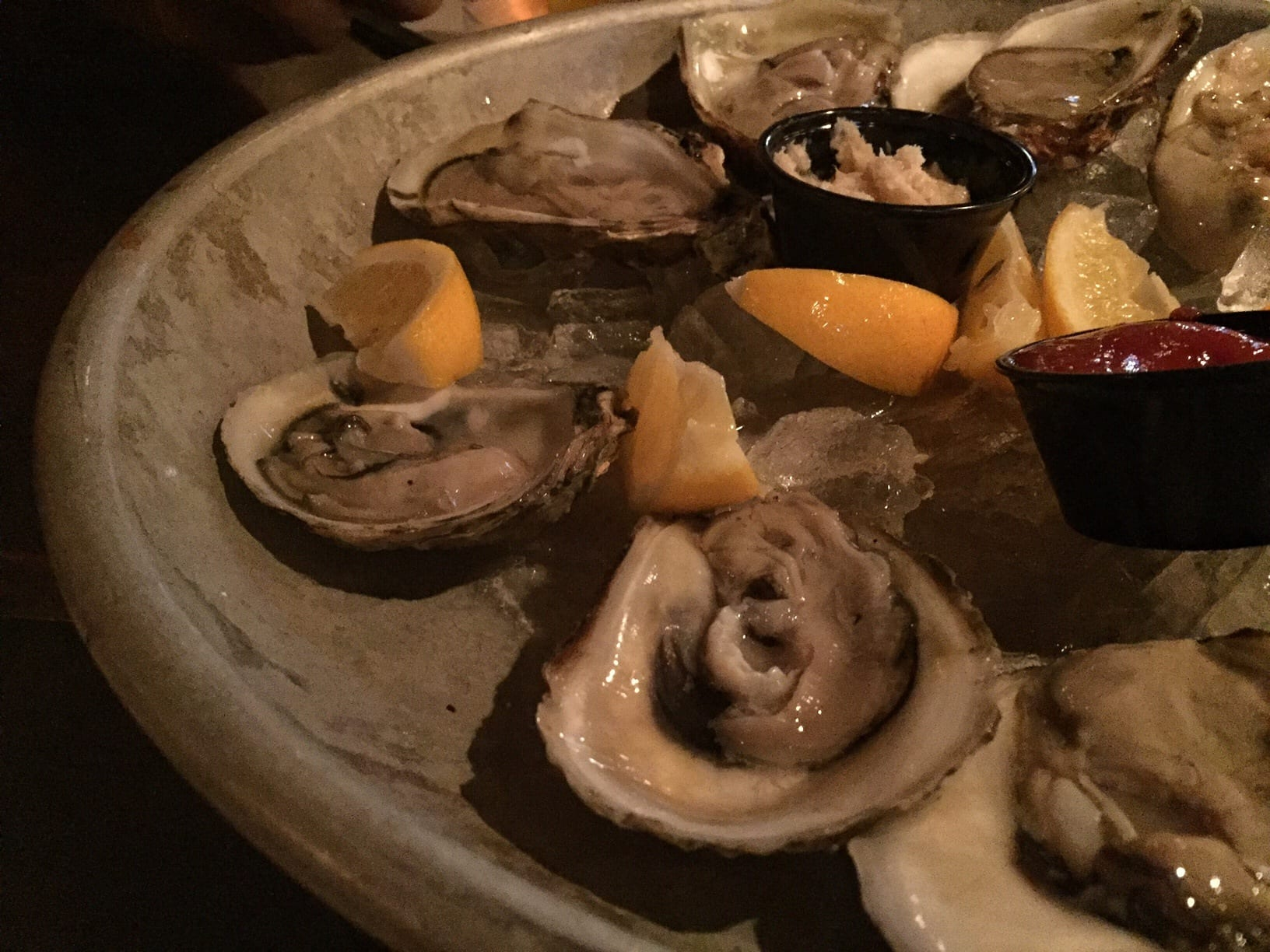 Oysters at the Grog