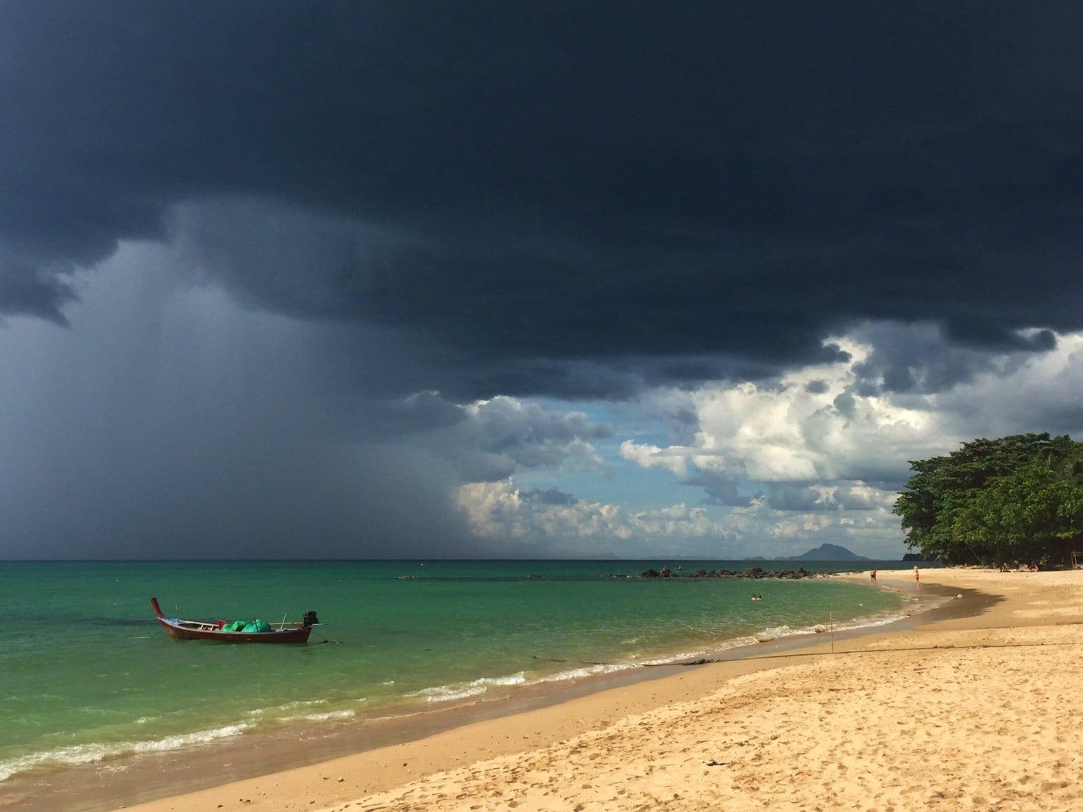Storm Coming, Relax Bay Koh Lanta