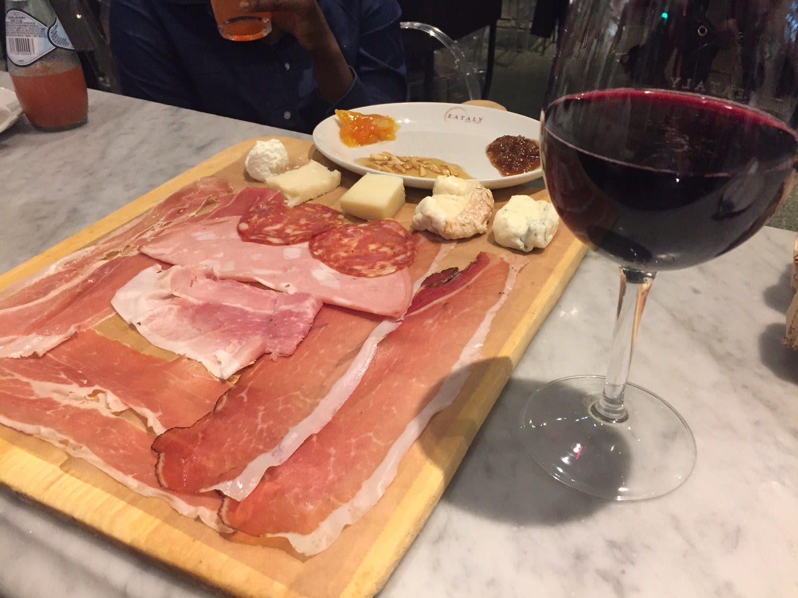 Eataly Prosciutto and Cheese