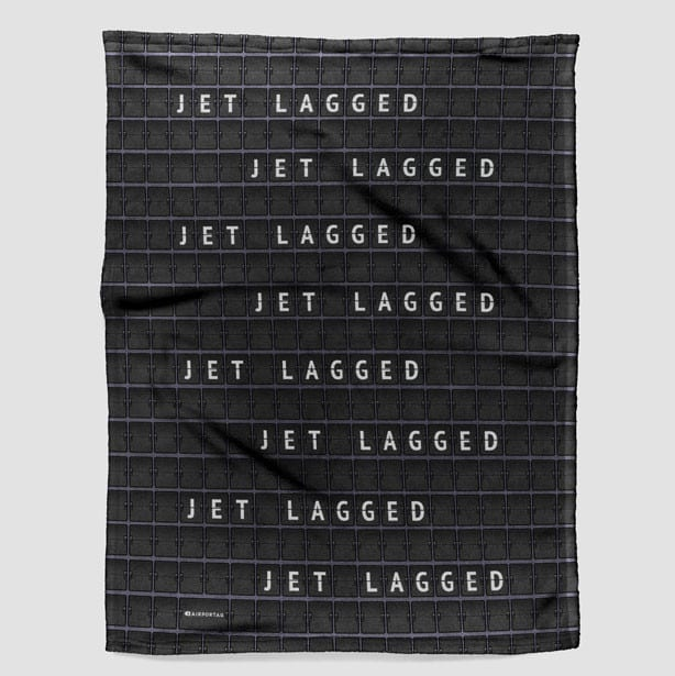 Airportag Jet Lagged Blanket