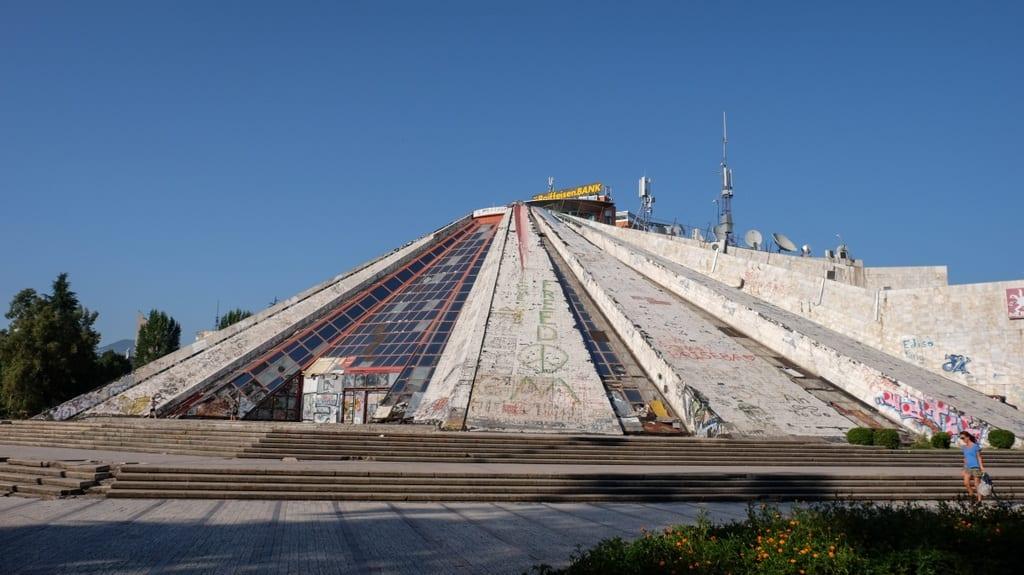 Pyramid Tirana Albania