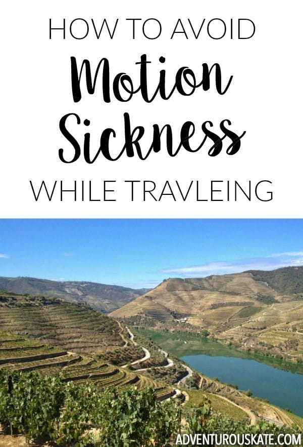 How to Avoid Motion Sickness While Traveling
