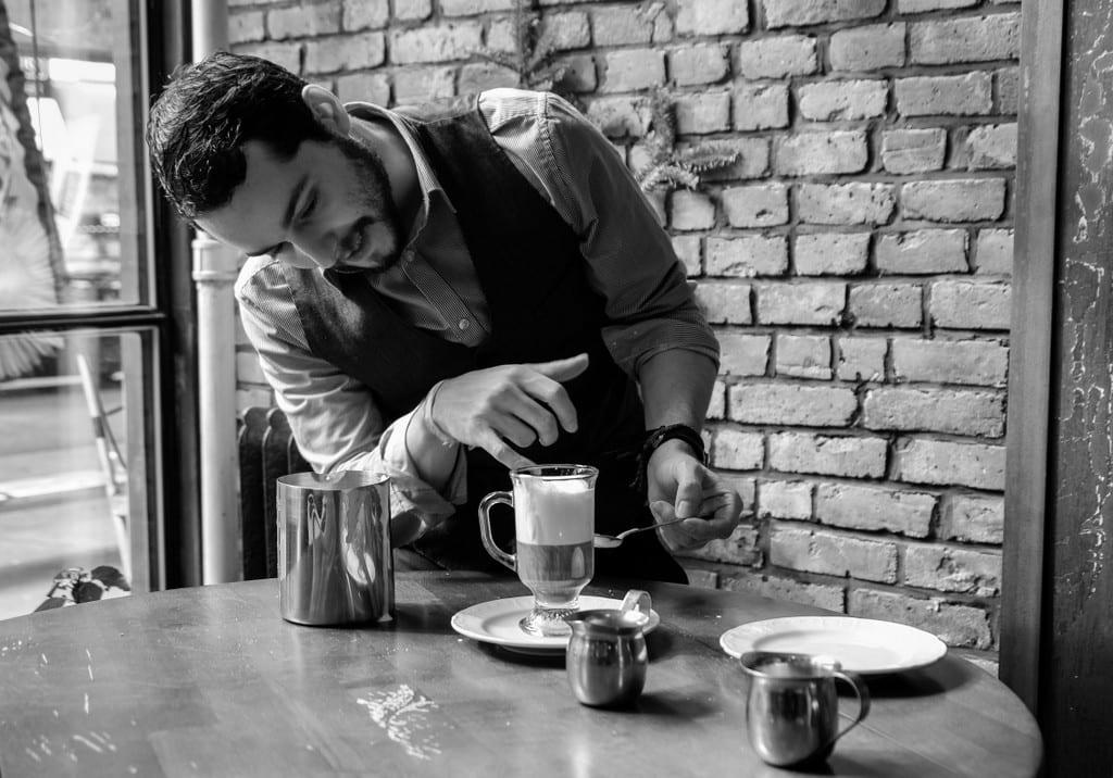 Bushwick Cappuccino Black and White