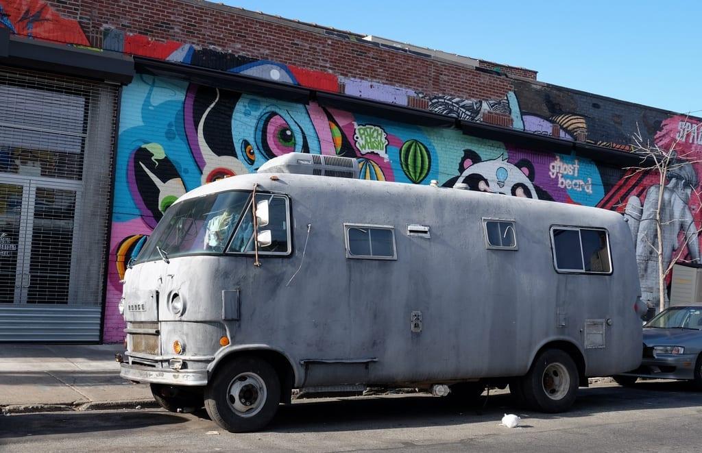 Bushwick Scary Van