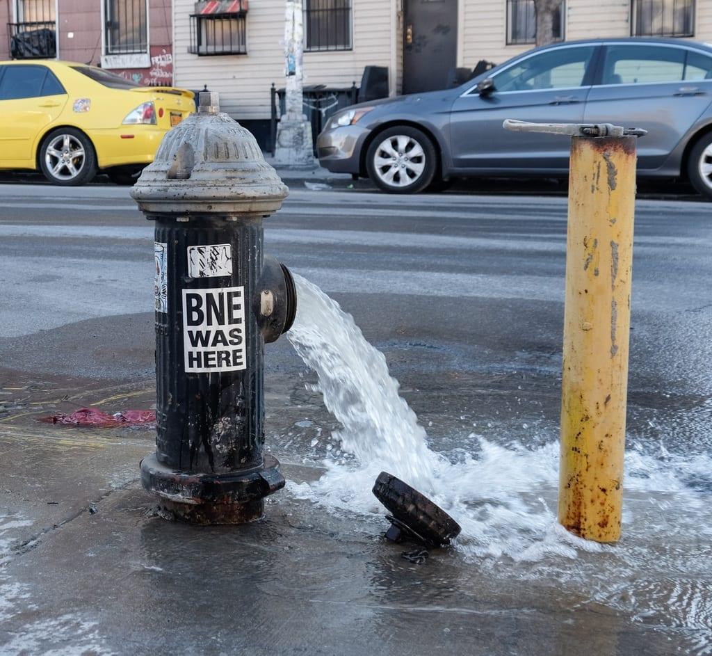 Bushwick Fire Hydrant