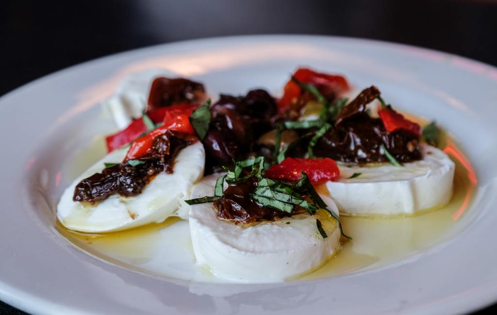 Mozzarella at Mario's Bohemian Cigar Store Cafe