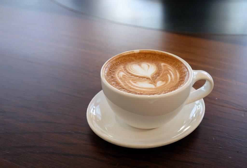 Latte at Blue Bottle Coffee