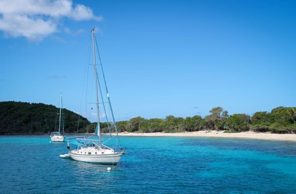 Boat off Culebra