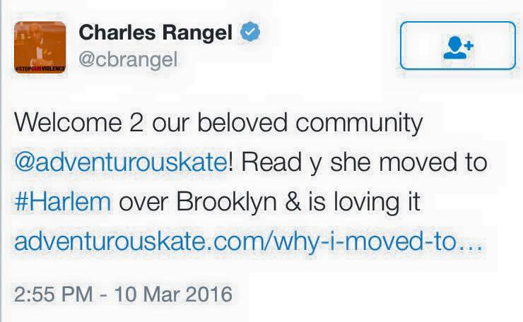 Charles Rangel Tweet