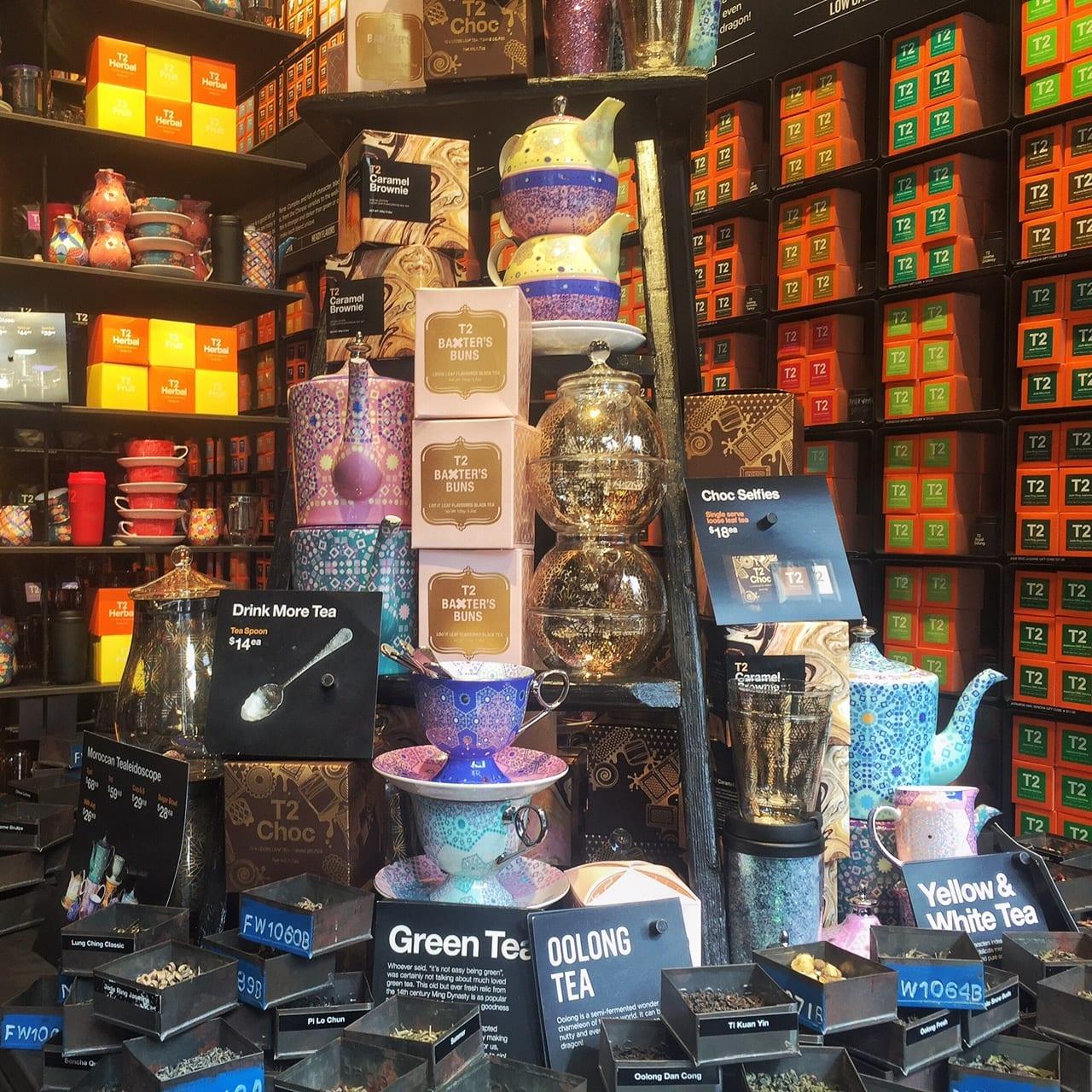 T2 Tea Shop Soho