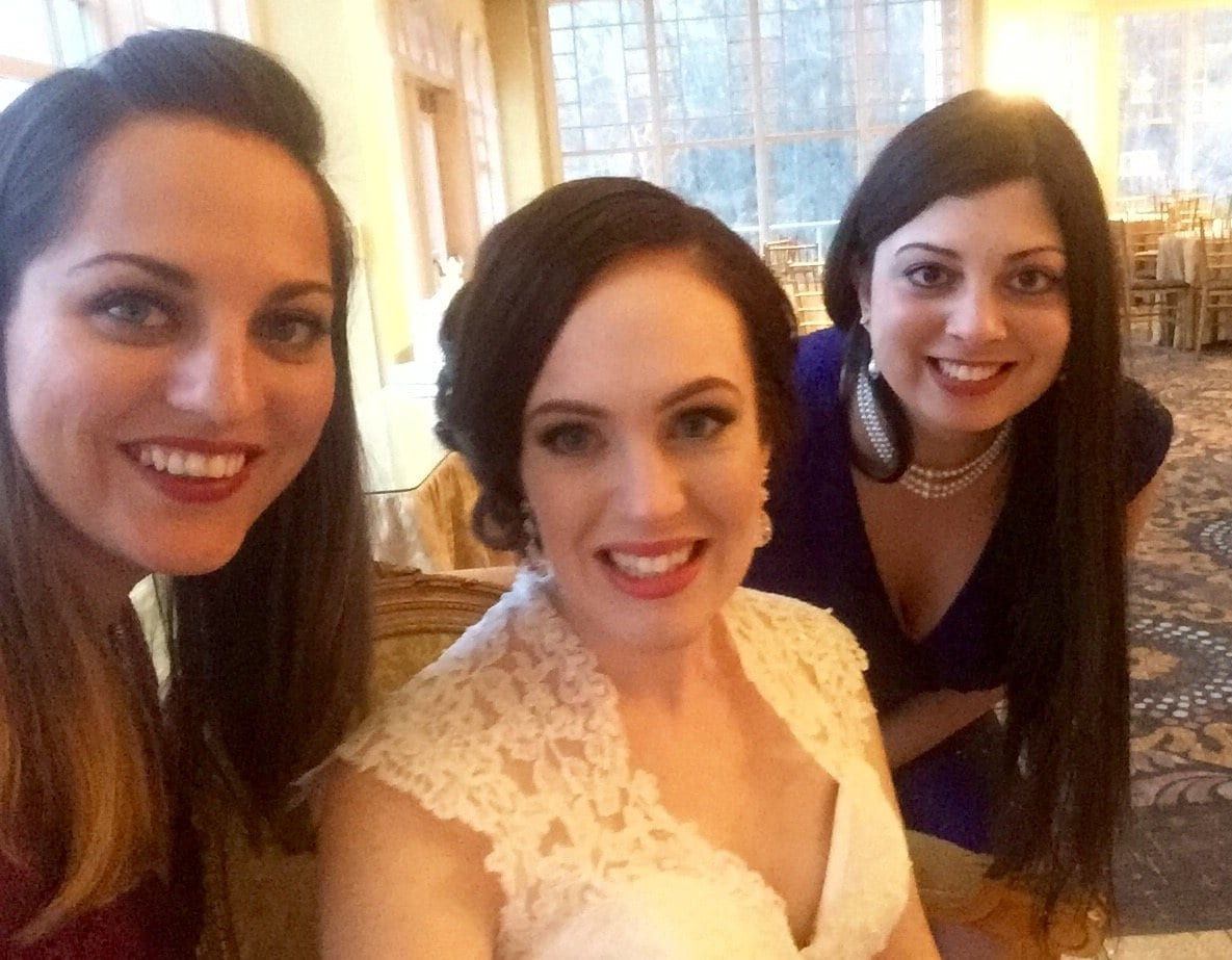 Kate and Alexa at Janelle's Wedding