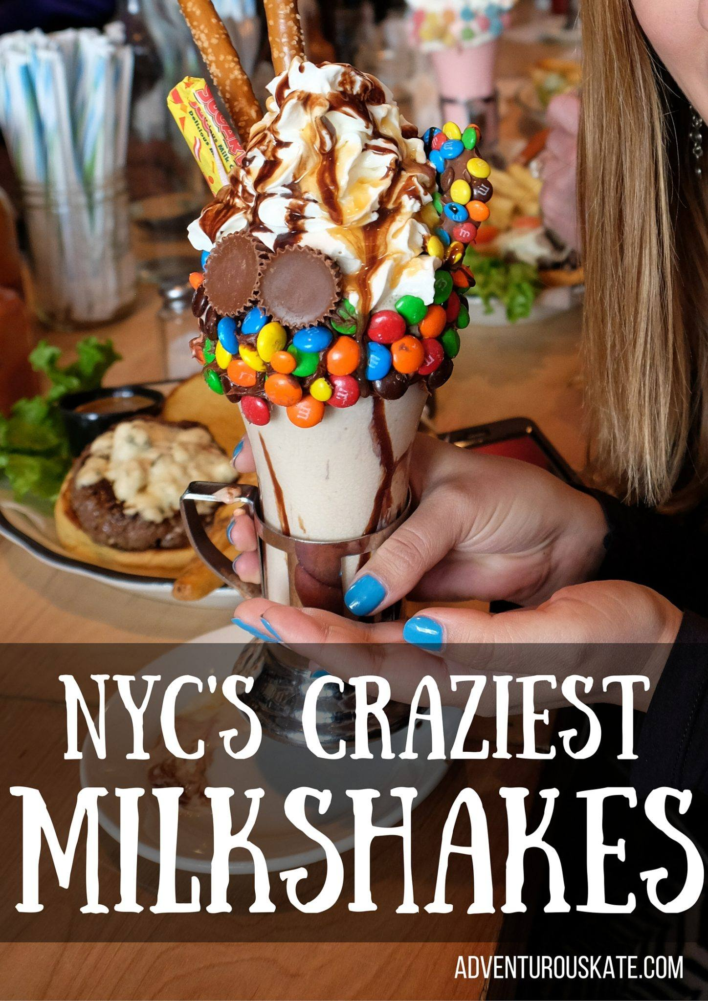 NYC's Craziest Milkshakes -- Adventurous Kate
