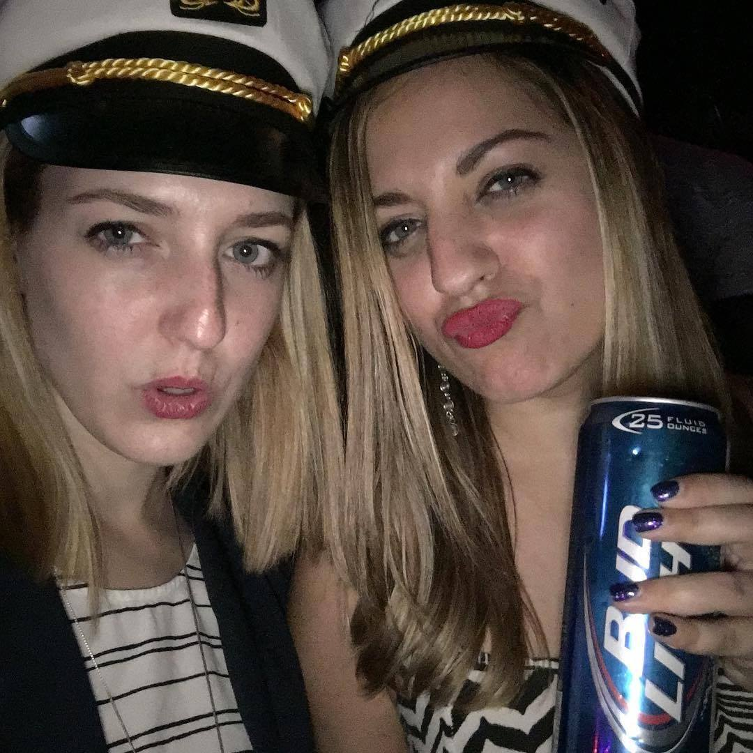 Sarah and Kate at Yacht Rock