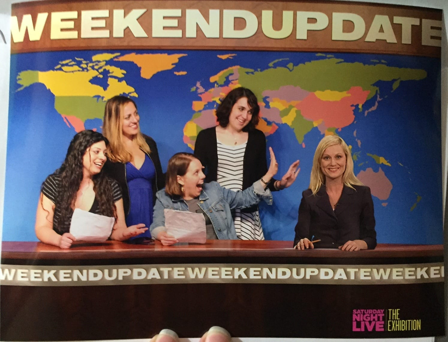 Alexa, Kate, Beth and Lisa at SNL Experience