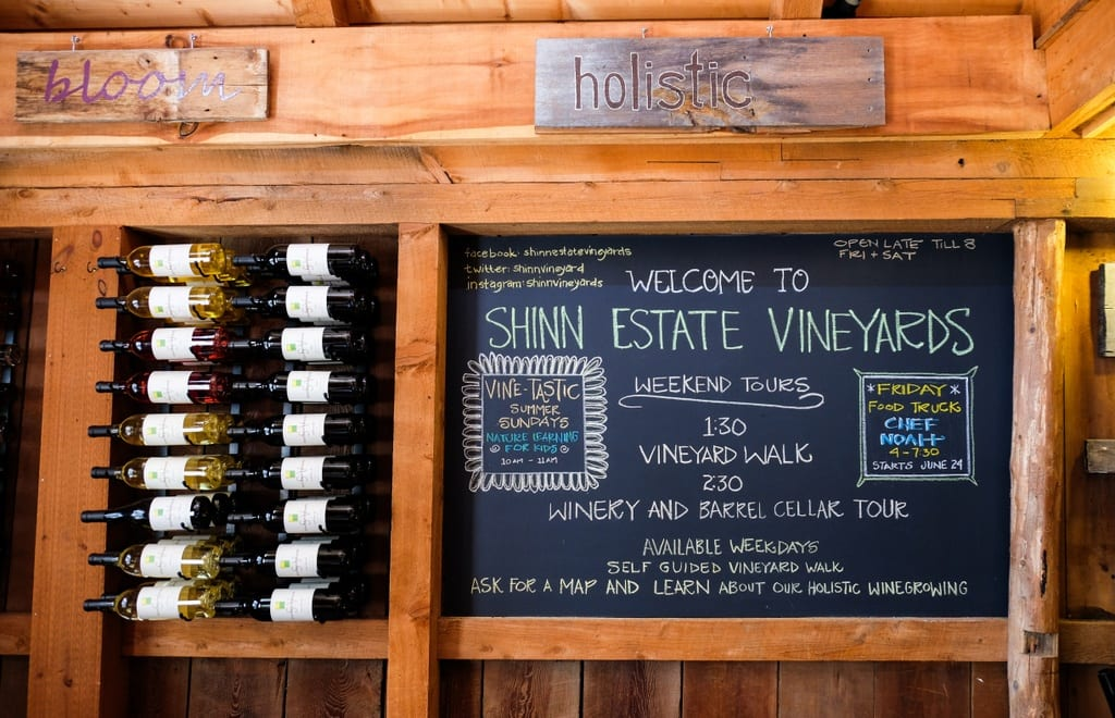 Shinn Estate Vineyards Long Island