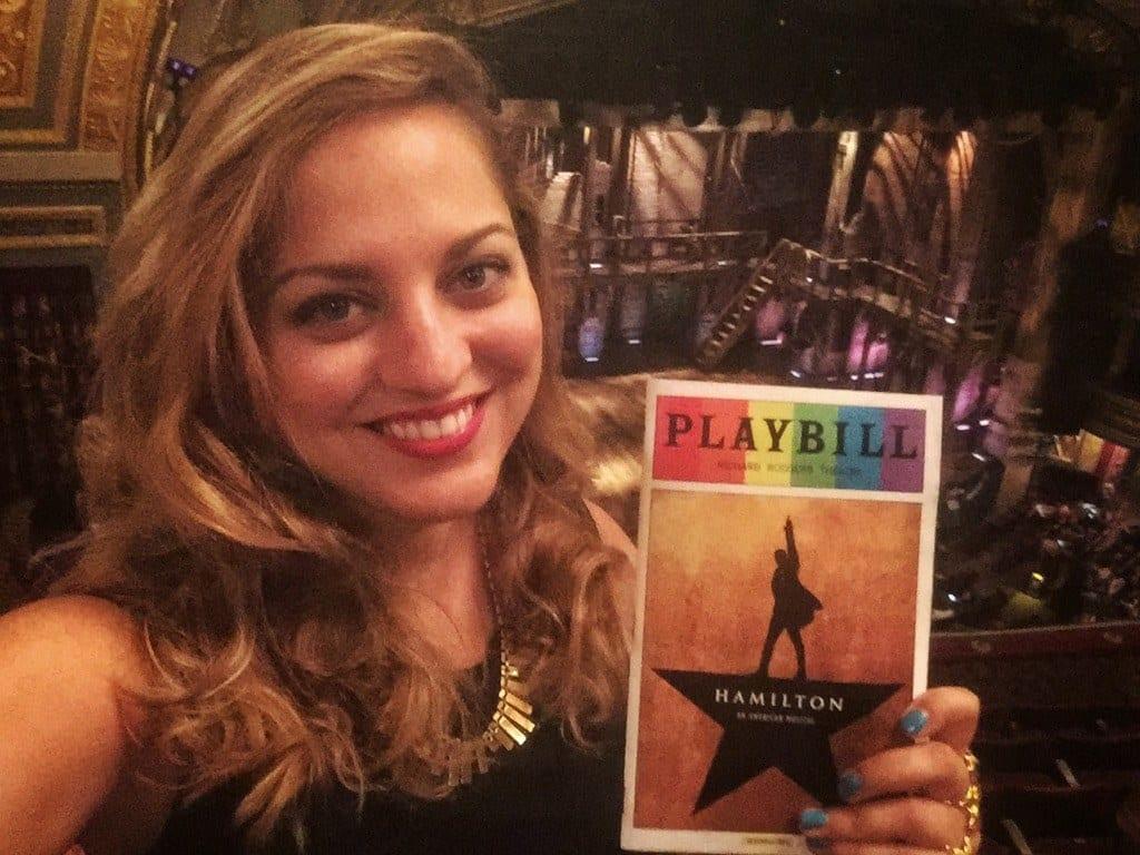 Kate at Hamilton