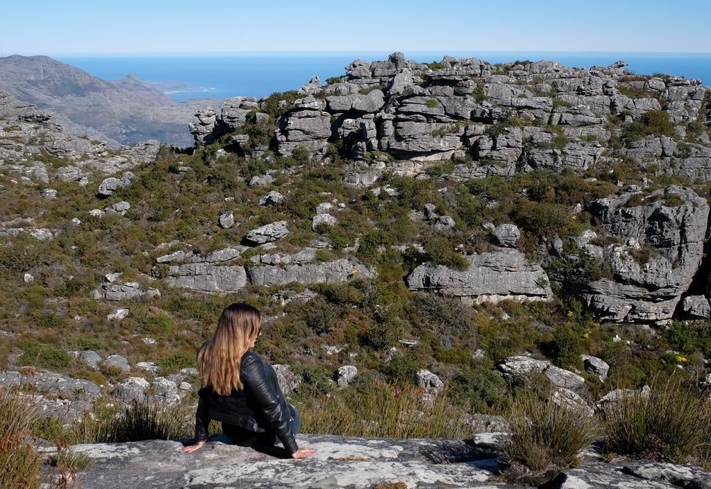 Kate at Table Mountain