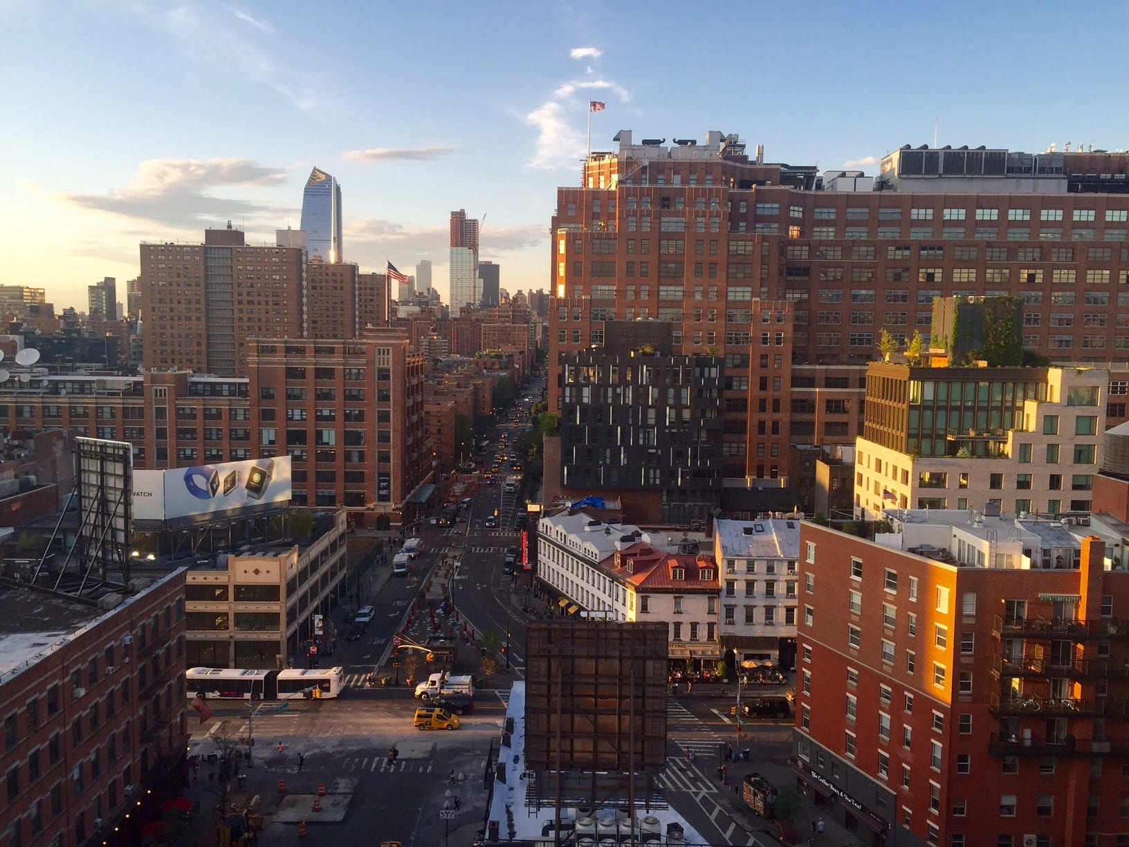 New York View from the Gansevoort
