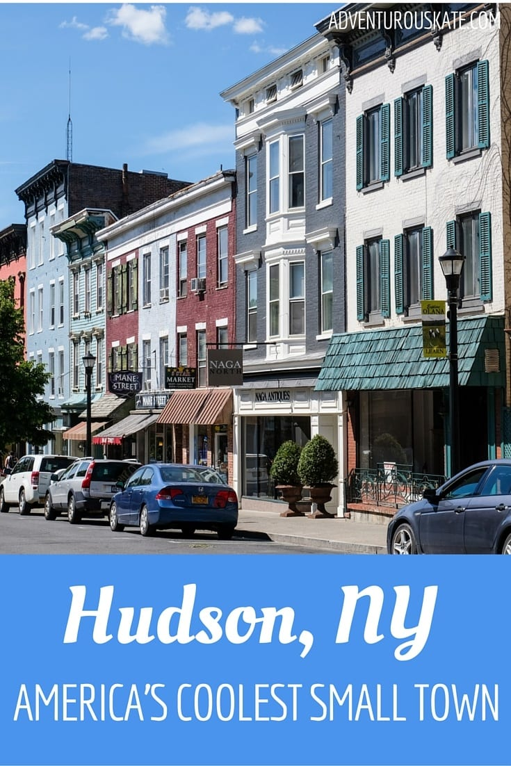 Hudson new york the coolest small town in america for Towns in new york